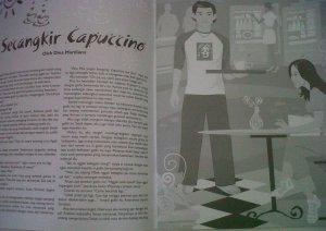 Cerpen tentang Kopi yang dimuat di majalah Cerkit tahun 2006