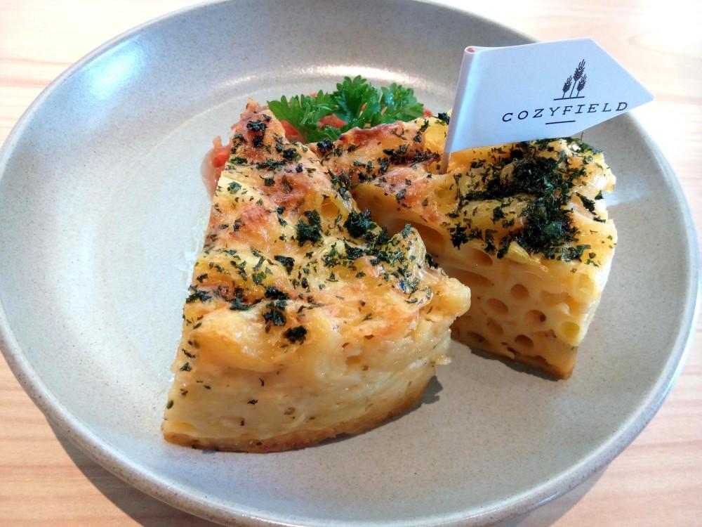 Menu andalan Cozyfield Cafe lainnya adalah Baked Macaroni Cheese Pot