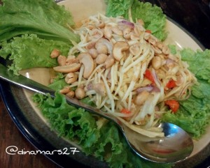 Yam Mamuang atau salad mangga yang menyegarkan! (foto: dokpri)